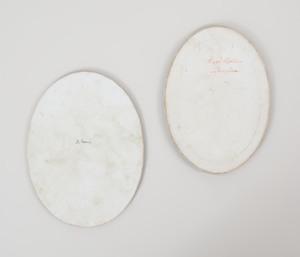 Two Continental Porcelain Plaques