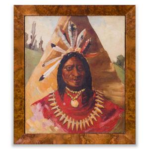 20th Century School: Native American Chief