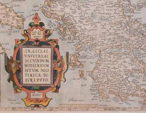European School: Map of Greece