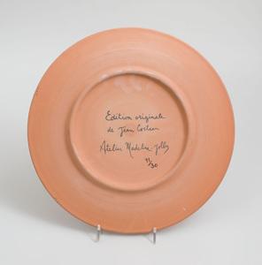 JEAN COCTEAU (1889-1963): FAUNE SÉDUCTEUR AUX CORNES BLANCHES