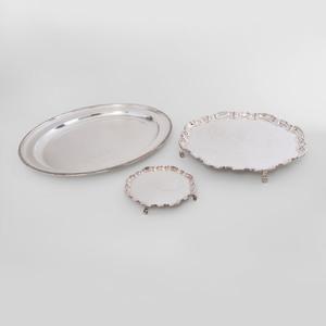 Three Wyler Silver Plate Tablewares