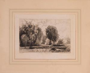 RUDOLPHE PIGUET (1840-1915): ENVIRONS DE STOCKBRIDGE (AMÉRIQUE)