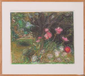 SIGRID SPAETH (1936-1996): UNTITLED (FLOWER STUDY)