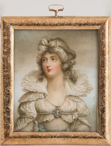PORTRAIT MINIATURE OF LADY CHARLOTTE DUNCOMBE