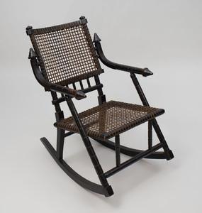 George Hunzinger Ebonized Rocking Chair
