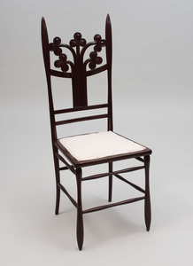 Aesthetic Movement Stained Wood Side Chair
