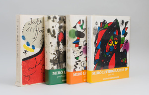 JOAN MIRÓ LITHOGRAPHS VOL. I, II, III AND IV