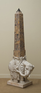 AFTER GIOVANNI LORENZO BERNINI (1598-1680): ELEPHANT AND OBELISK