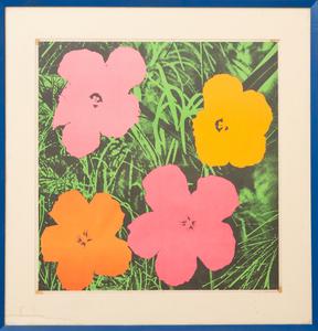 ANDY WARHOL (1928-1987): FLOWER