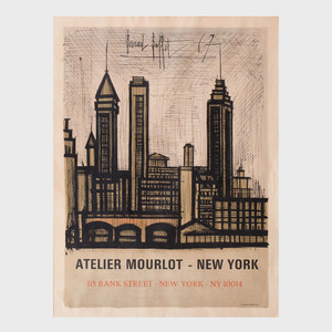 Bernard Buffet Exhibition Poster