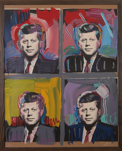 PETER MAX (b. 1937): JFK - FOUR PORTRAITS