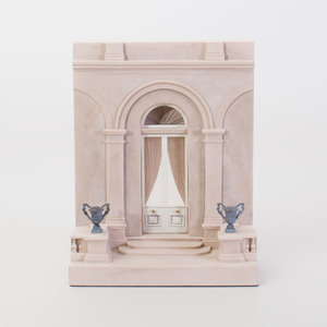 Timothy Richards Neoclassical Style Cast Composition Architectural Model, for the Doorway to the Wallace Collection