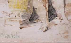 ATTRIBUTED TO REGINALD MARSH (1898-1954): STANDING BATHER