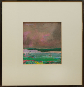 SYD SOLOMON (1917-2004): GLIMPSE OF THE SEA
