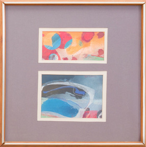 SYD SOLOMON (1917-2004): OVER AND UNDER: A DIPTYCH