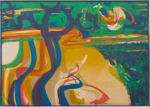 SYD SOLOMON (1917-2004): ABSTRACT