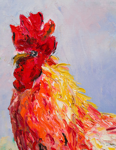 Diane Holmes: Rooster