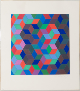 VICTOR VASARELY (1906-1997): UNTITLED