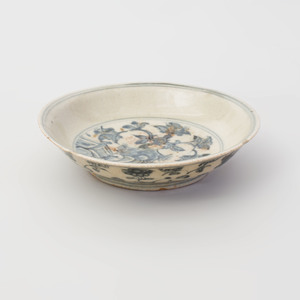 Chinese Blue and White Porcelain Dish