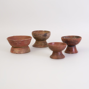 Group of Four Painted Pottery Vessels