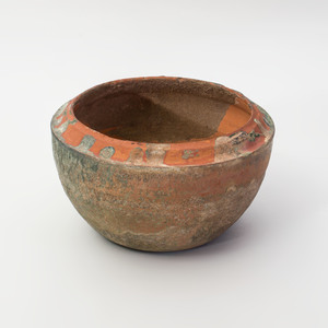 Chinese Green Glazed Han Pottery Vessel and a Cover