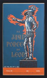 AFTER CARLOS RAQUEL RIVERA (b. 1923): JUAN PONCE DE LEON