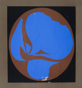JACK YOUNGERMAN (b. 1926): UNTITLED, FROM THE BLUE/BROWN SUITE: SIX PLATES