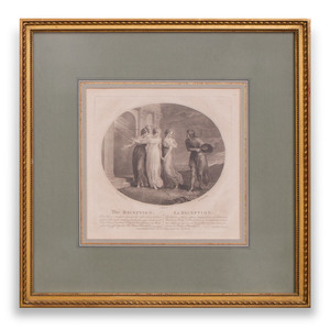 After Thomas Stothard (1755-1834): The Escape; The Affright; The Diffidence; and The Reception
