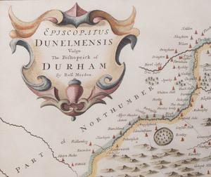 Robert Morden: Map of the County of Durham