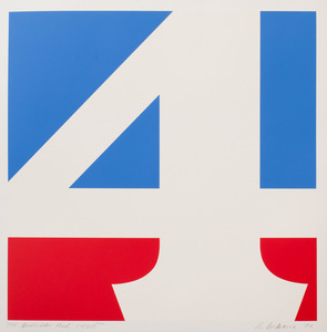 ROBERT INDIANA (b. 1928): THE AMERICAN FOUR