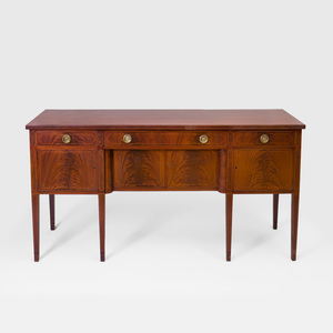 Federal Style Inlaid Mahogany Sideboard