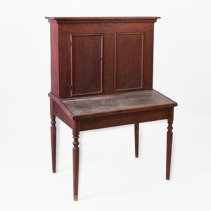 American Primitive Oak Teacher's Desk