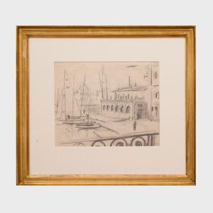William Nicholson (1872-1949): La Rochelle, Brittany