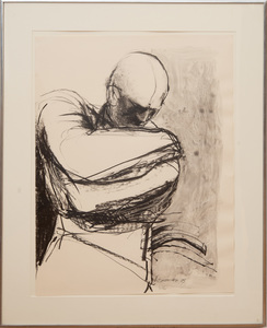 NANCY GROSSMAN (b. 1940): SKETCH #1 FOR BOUND