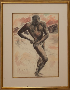 ANDRÉ DUNOYER DE SEGONZAC (1884-1974): LA PLAGE
