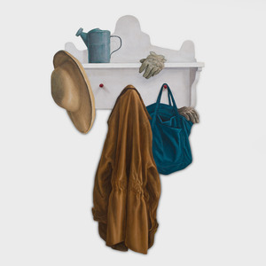Jeffrey Greene: Trompe L'oeil Coat Rack