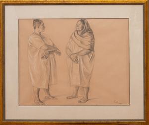 FRANCISCO ZUÑIGA (1912-1998): TWO WOMEN