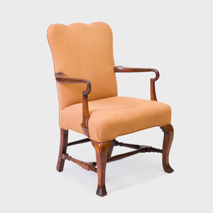 George II Walnut Armchair