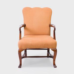 George II Walnut Armchair