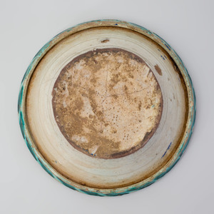 Three Continental Polychrome Painted Faience Bowls