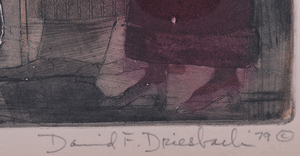 DAVID F. DRIESBACH (b. 1922): CORONADO