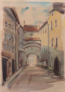 20TH CENTURY SCHOOL: STREET SCENE