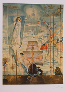 SALVADOR DALI (1904-1989): THE DISCOVERY OF AMERICA BY CHRISTOPHER COLUMBUS