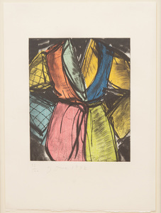 JIM DINE (b. 1935): BILL CLINTON ROBE, FROM ARTISTS FOR FREEDOM OF EXPRESSION