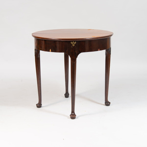 George I Mahogany Games Table