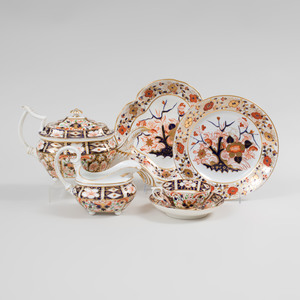Royal Crown Derby Porcelain Part Tea Service in the 'Traditional Imari' Pattern and a Group of Similar Wares
