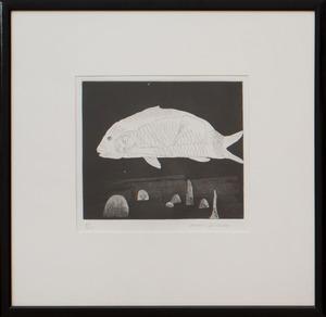 DAVID HOCKNEY (b.1937): BOY HIDDEN IN A FISH