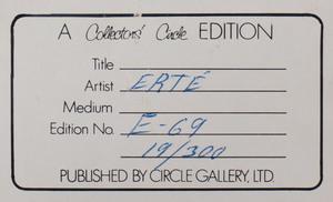 Erté (1892-1990): La Belle
