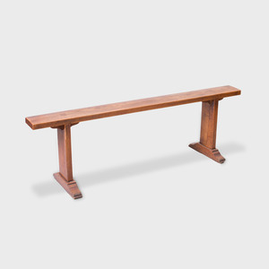 French Provincial Walnut Bench