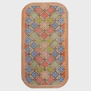 Stark Machine Woven Hooked Corrodor Carpet